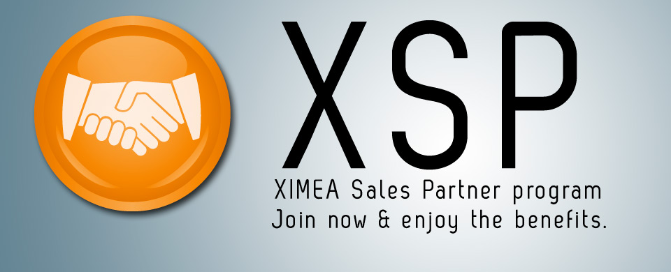 XSP - XIMEA Sales Partner Program