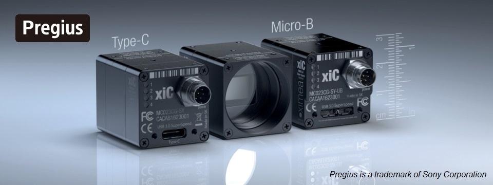 Sony CMOS USB3 cameras - xiC