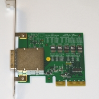 PCIe host adapter for copper x1
