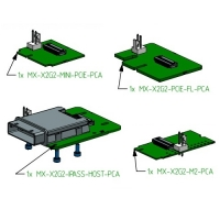 Adapter boards with 2x lanes