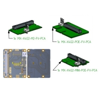 Adapter boards with 4x lanes