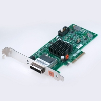 PCIe host adapter for fiber x1