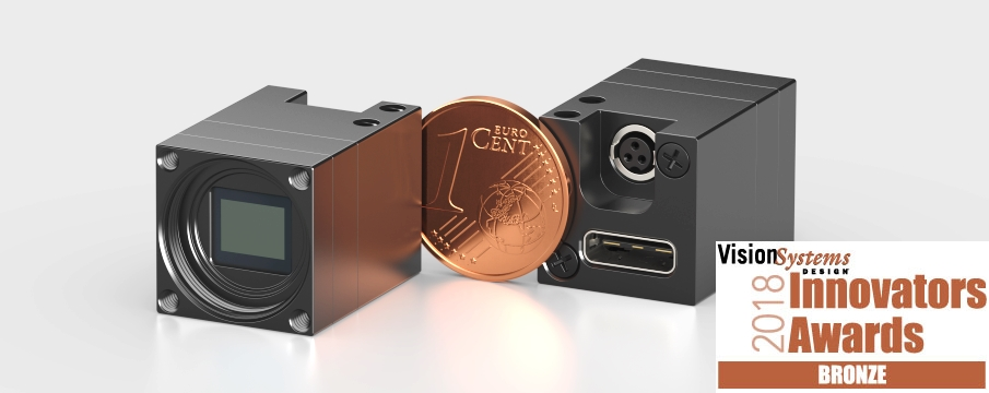 18 Mpix Subminiature USB3 camera small Vision Systems Design Awards 2018