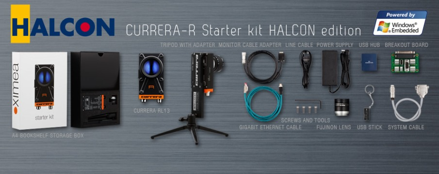 starter kit accessories camera ximea vision