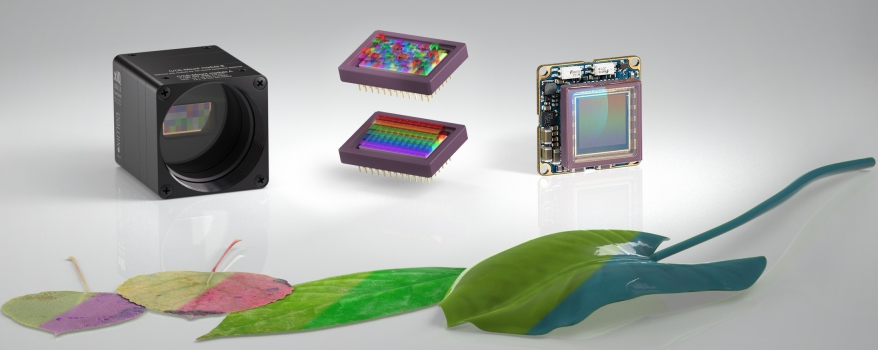 Smallest Hyperspectral imaging (HSI) cameras with USB3