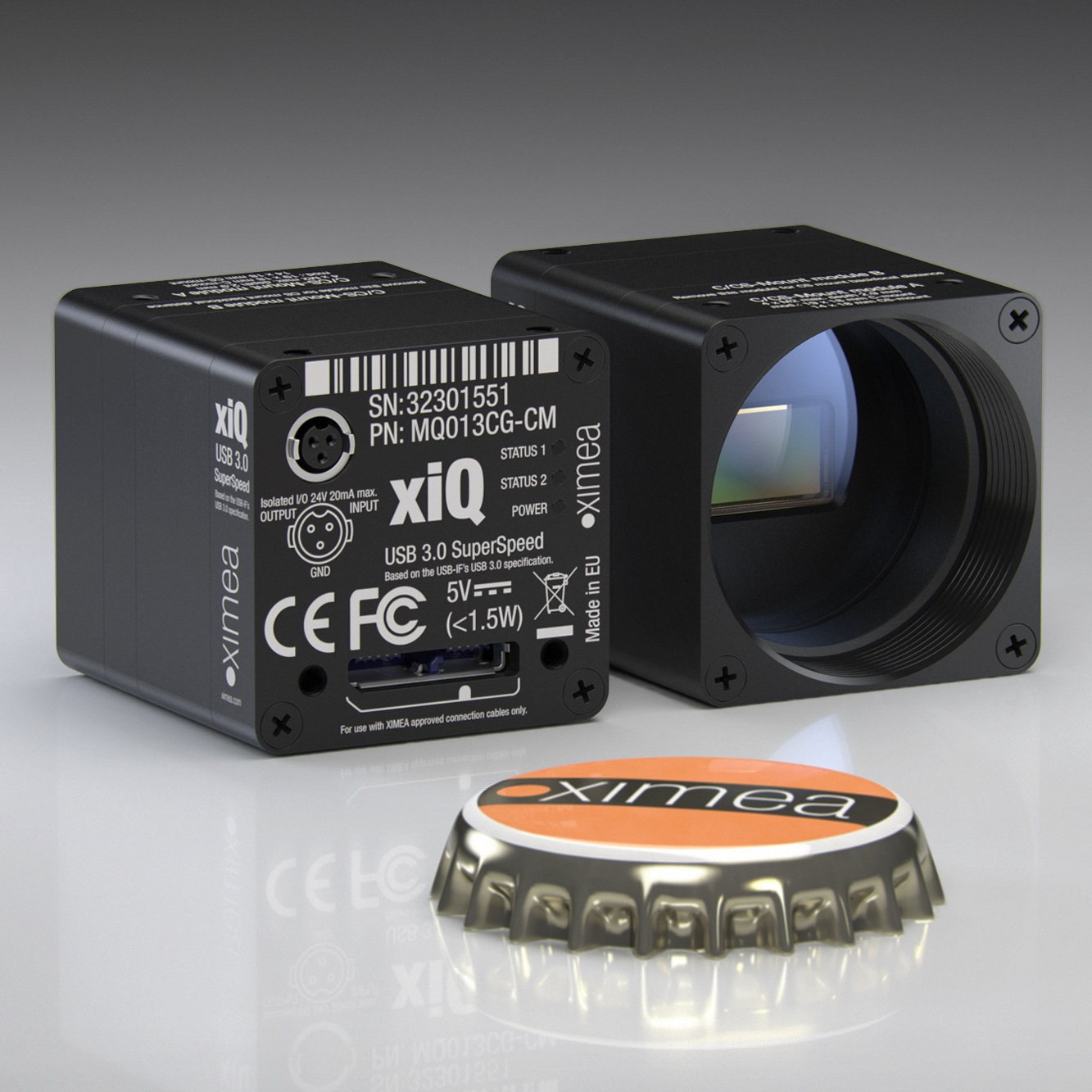 XIMEA - USB3 Vision Standard cameras with USB 3 0 interface based on