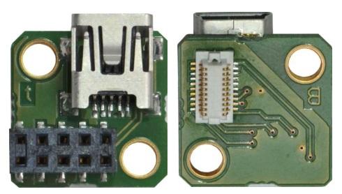 adapter mini USB 2.0 board