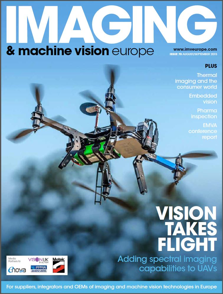 imaging machine vision europe magazine hyperspectral camera