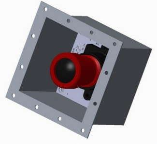 ITIC vacuum enclosure housing camera
