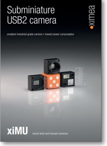USB camera mini GenTL GenICam 5 Mpix