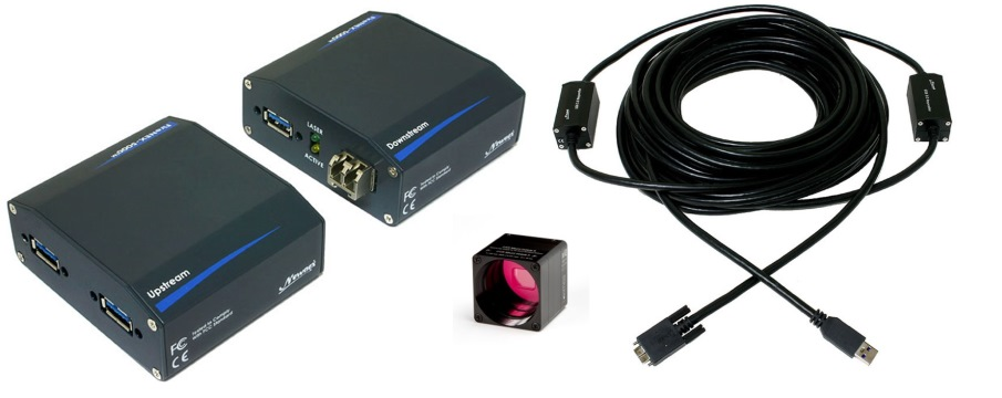Newnex XIMEA USB3 cameras cable repeater