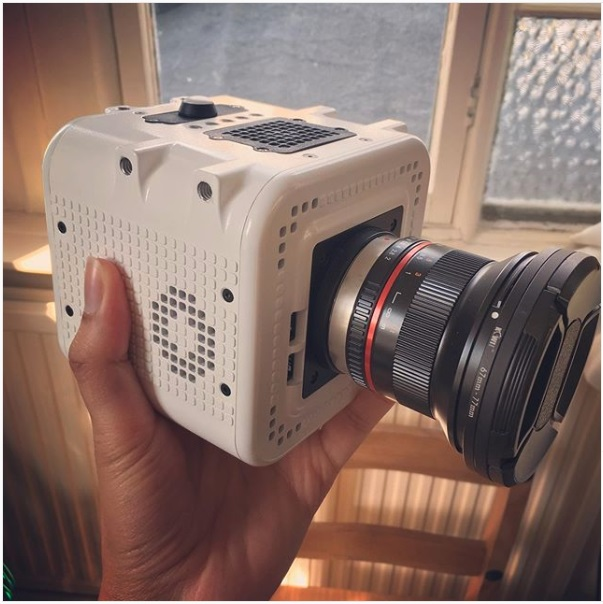 XIMEA - Case Study: Cinematography camera with swappable sensors