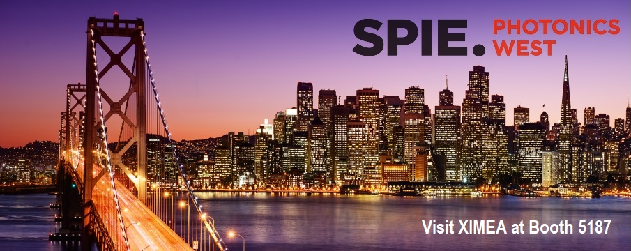 Photonics West 2019 SPIE San Francisco XIMEA cameras
