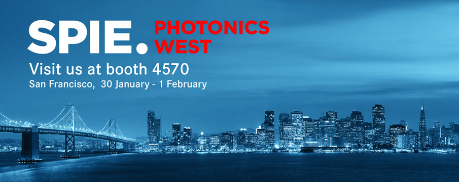 Photonics West 2017 SPIE San Francisco XIMEA cameras