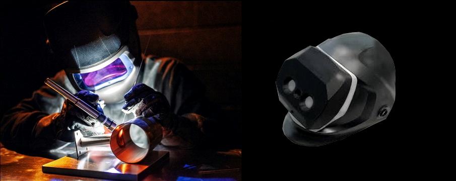 sri kawada introduce 3d welding helmet vision camera