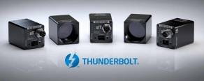 thunderbolt technology enabled industrial cameras cmosis sony