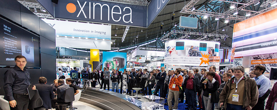 XIMEA cameras at Vision Show Stuttgart 2014 exhibition