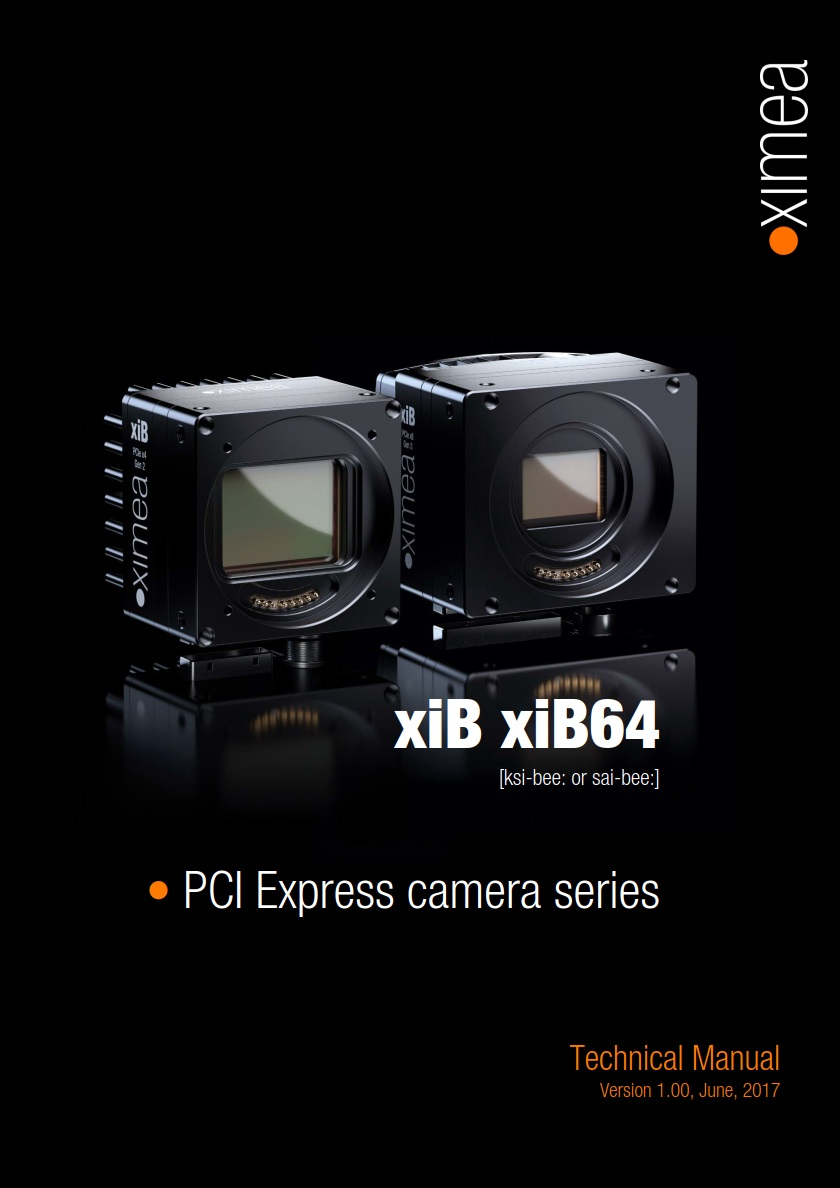 PCI Express PCIe camera fast high speed machine vision