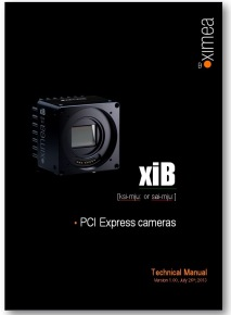 xib technical manual pcie camera