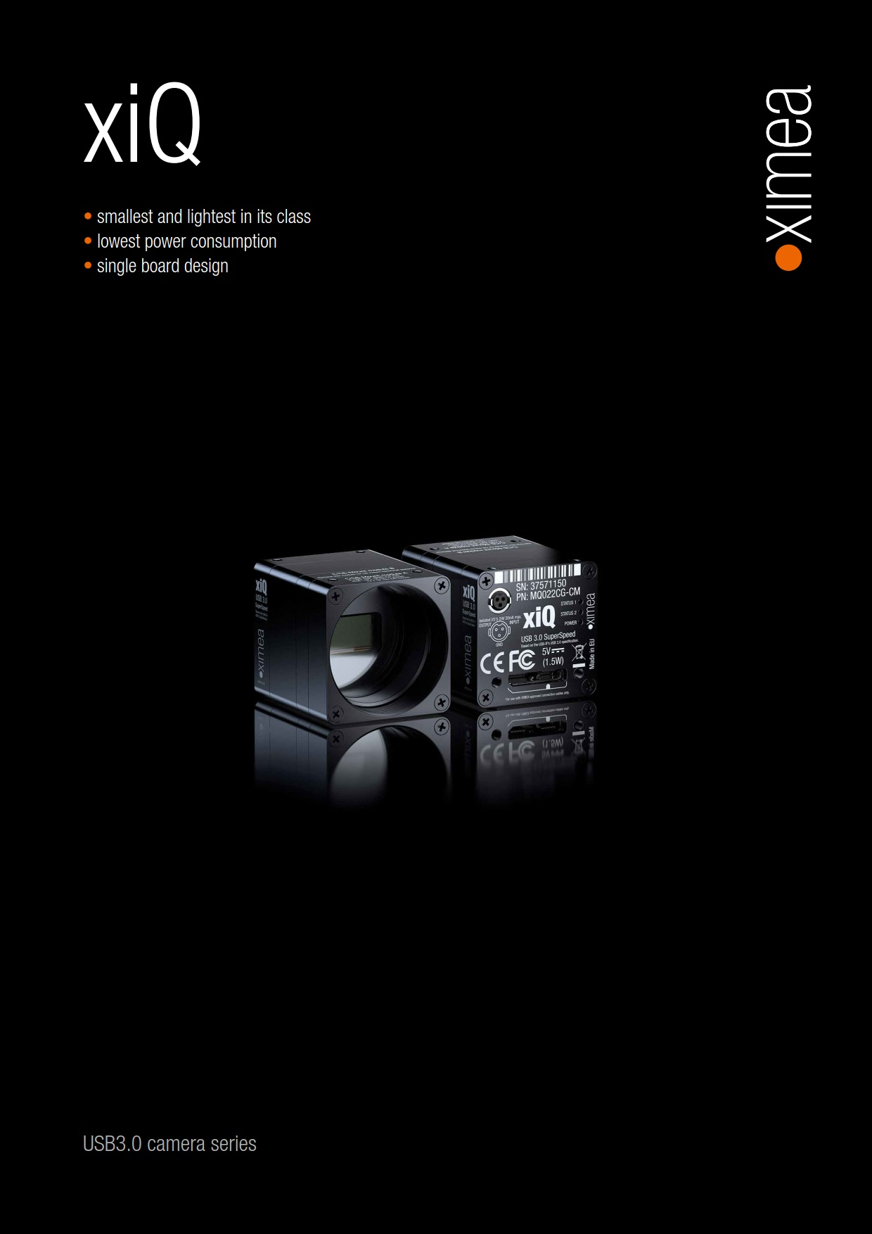 XIMEA - USB 3 0 Camera with CMOS