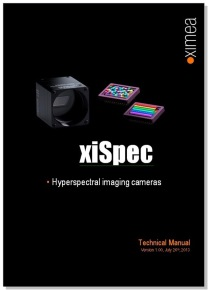 xispec technical manual usb3 HSI Hyperspectral mini camera
