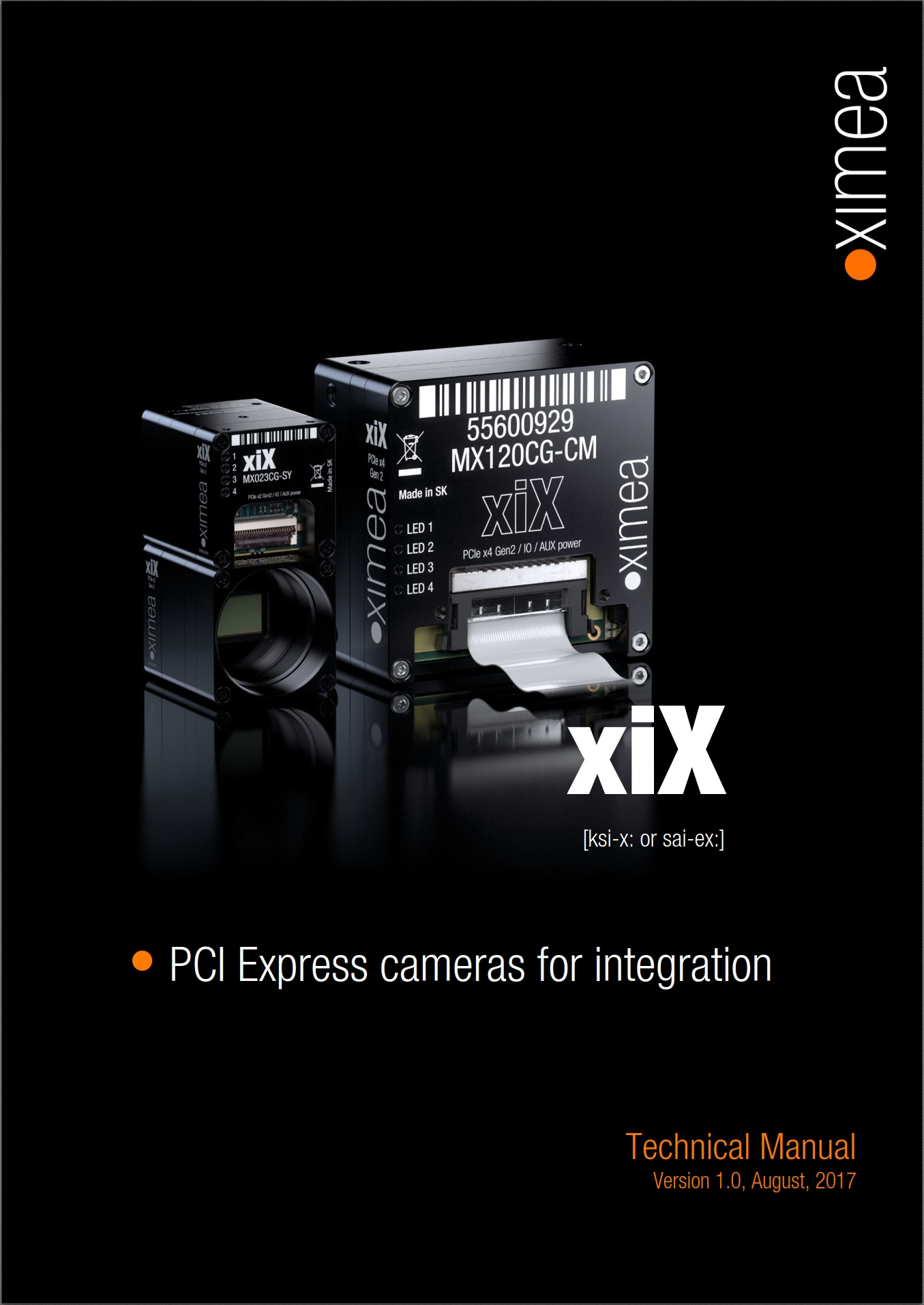 XIMEA - Embedded vision and multi-camera setup - xiX