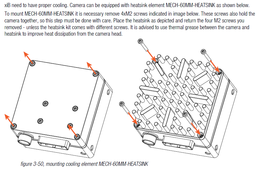 pci express camera xib xib ximea support external ef mount adapter and camera 3d step external ef mount adapter mechanical drawing led signals · pcie adapter boards xix models