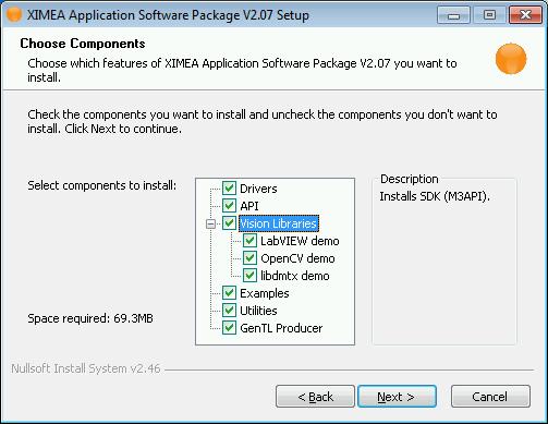 XIMEA Windows Software Package - APIs - ximea support